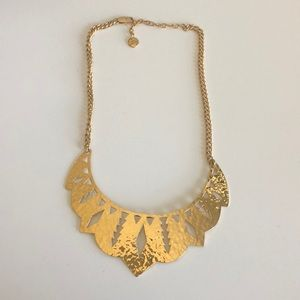 Juicy Couture gold goddess necklace